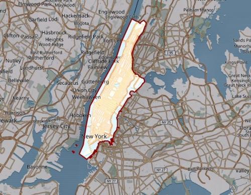 09a 600 New york in Manhattan