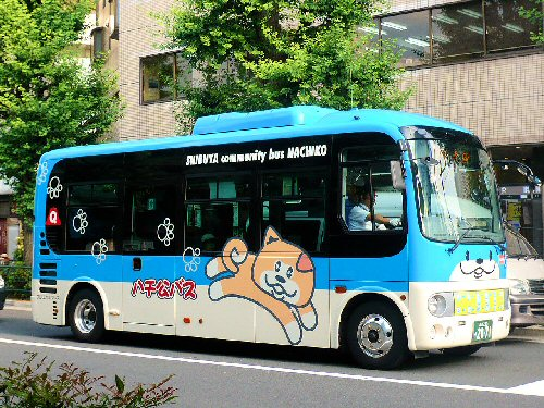 03d 500 Shibuya_Hachiko_Bus
