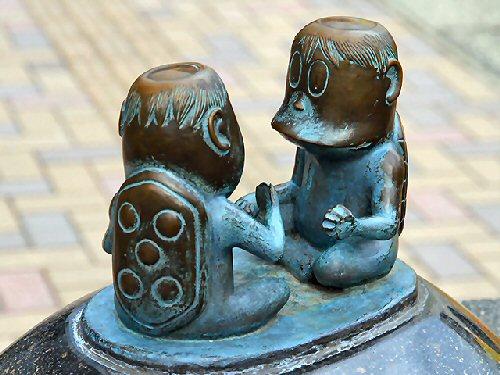 09ba 500 河童銅像