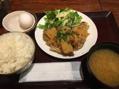 鶏の唐揚げ おろしポン酢定食
