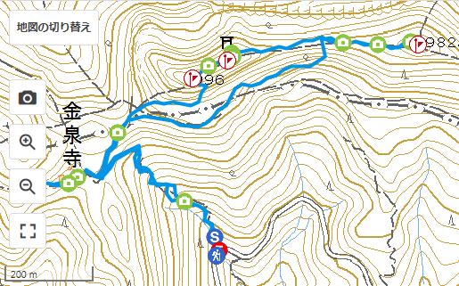2019年2月11日 多良岳ルート