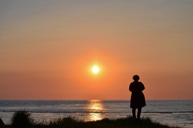 日本海の夕陽201905040009