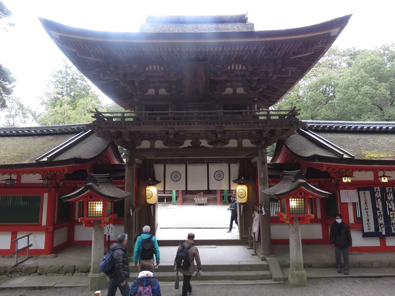 s-石上神宮 楼門
