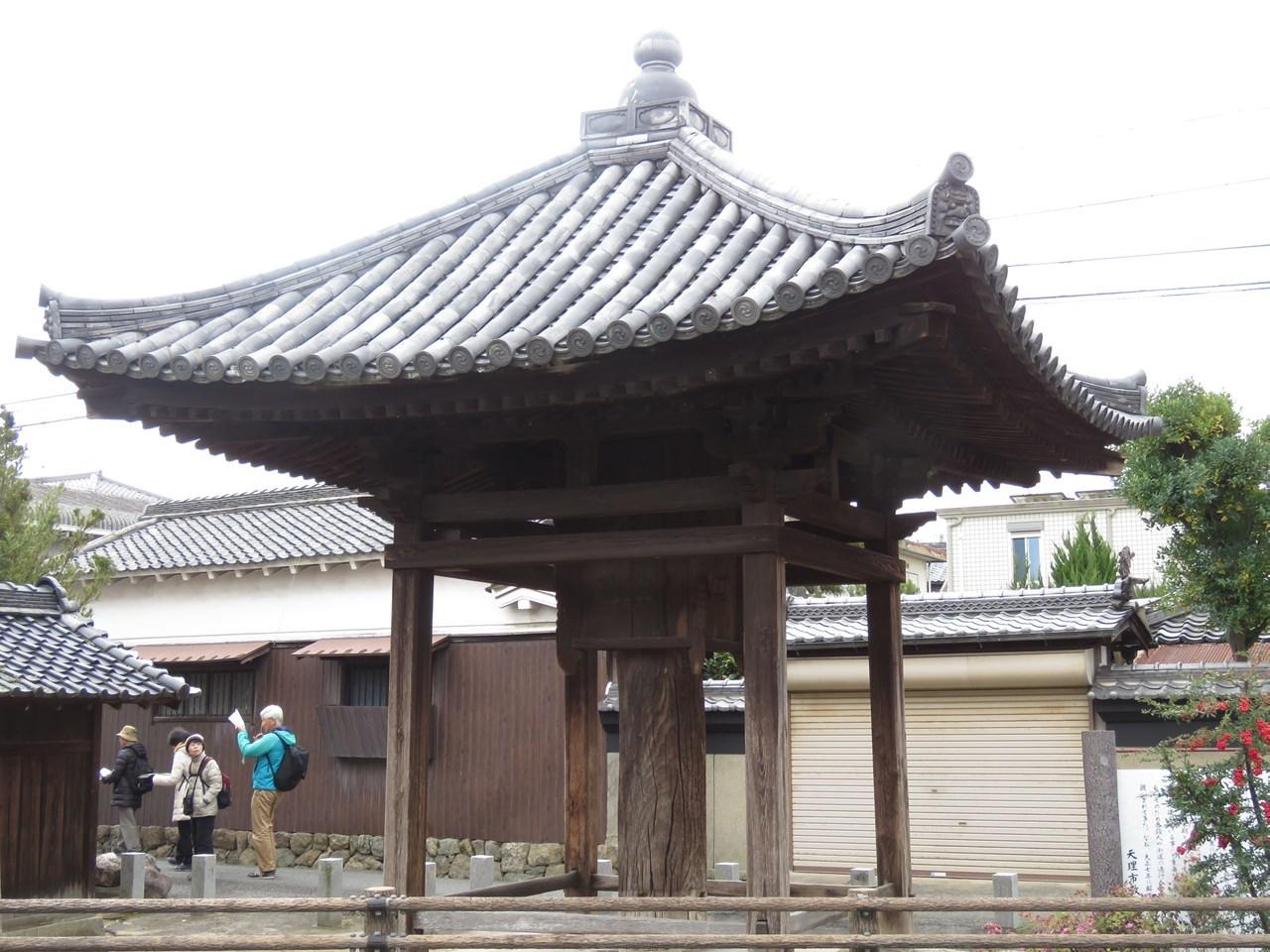 s-長岳寺五智堂