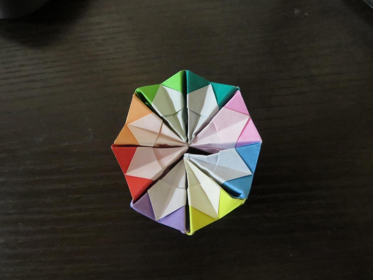 s-折り紙万華鏡