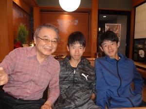 孫の誕生日祝い