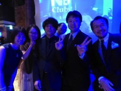 鈴ノ木先生の授賞式