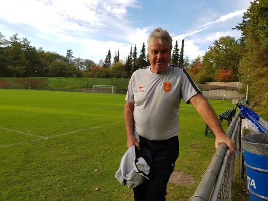 Guus Hiddink, new manager of Chinas U-21, shocked at level of quality