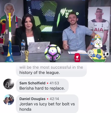 If Usain Bolt scores more than Honda, Lucy Zelic will shave her head