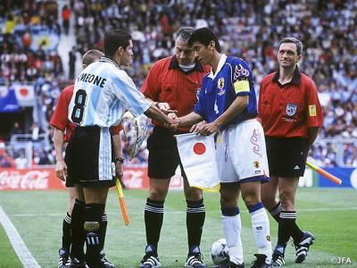 Argentina v Japan World Cup 1998