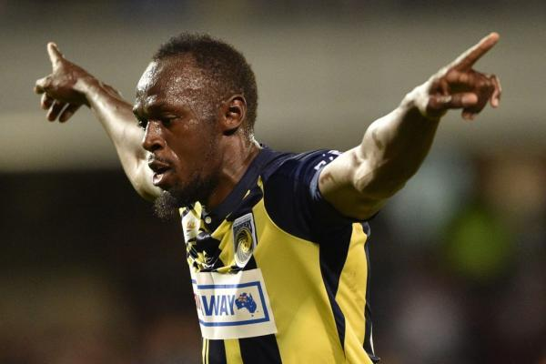 Usain Bolt is not a footballer and never will be