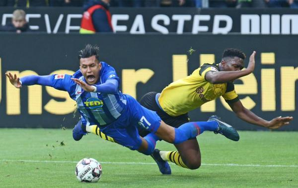 Borussia Dortmund 2-2 Hertha BSC 2018