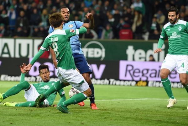 Bremen 2-6 Leverkusen Yuya Osako goal
