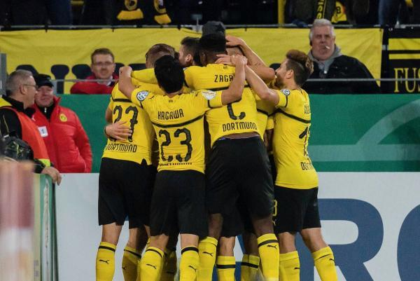 kagawa dortmun 3_2 Union Berlin (DFB Pokal #2)