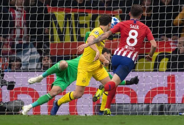 Atletico Madrid 2-0 Borussia Dortmund 2018