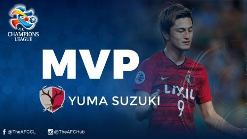 Yuma Suzuki named #ACL2018 MVP