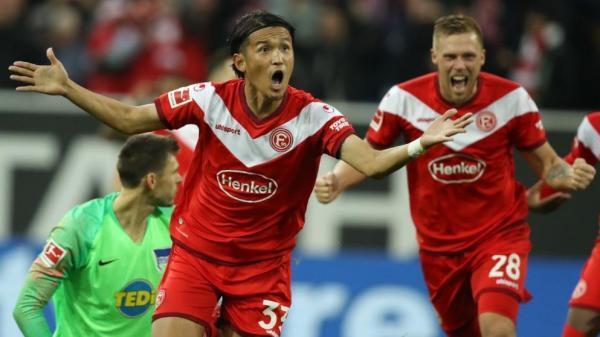 Dusseldorf 1-0 Hertha Takashi Usami goal