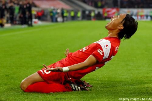 Dusseldorf 4-1 Hertha Takashi Usami goal