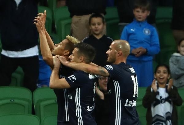 Keisuke Honda goal Melbourne Victory Central Coast Mariners