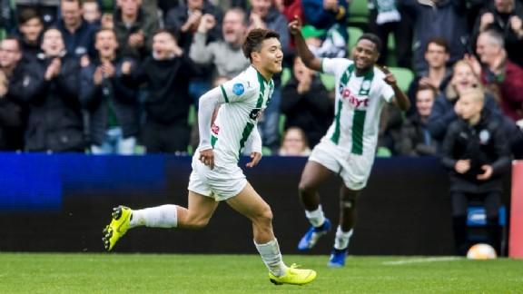 FC Groningen 2-0 Heerenveen Ritsu Doan goal