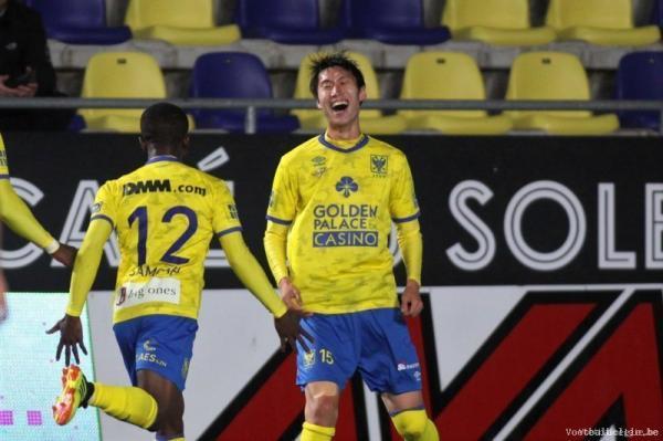 Kamada daichi 2 goals agaist KAS Eupen