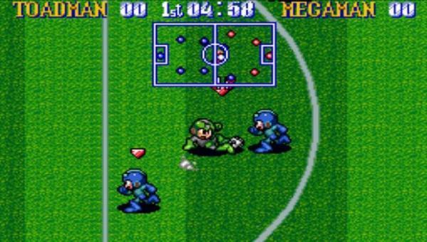 Megaman Soccer