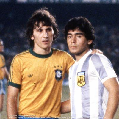 zico and maradona