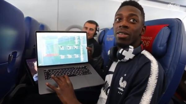 Hard to find a player more addicted to FM than Dembélé