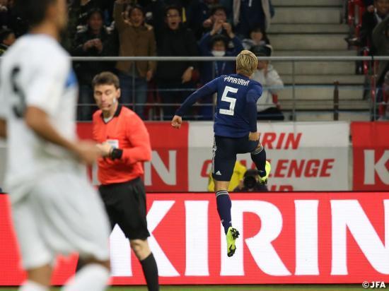 Japan 2-0 Kyrgyzstan yamanaka goal