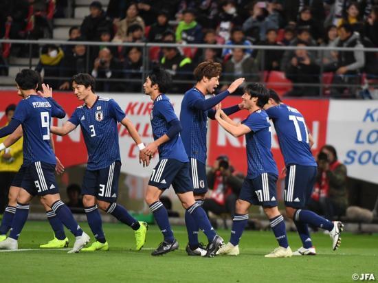 Japan 4-0 Kyrgyzstan 2018