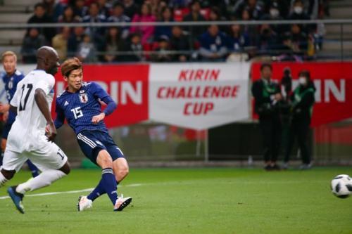 Japan 3-0 Kyrgyzstan Yuya Osako goal