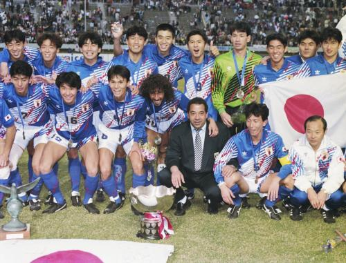 1992 Japan lift maiden AFC Asian Cup title after defeating Saudi Arabia 1-0 in Hiroshima