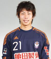 Higashiguchi at Albirex Niigata