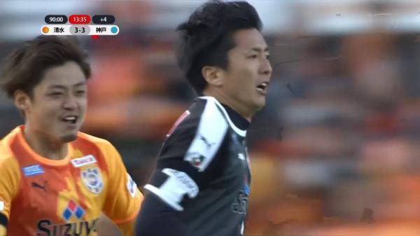 Shimizu S-Pulse [3]-3 Vissel Kobe - Yuji Rokutan(GK) 90_14 goal