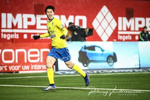 Saint-Trond [3]-2 Anderlecht - Daichi Kamada goal