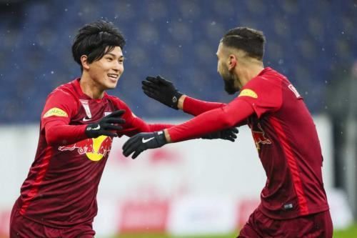 Minamino takumi goal aginst Rheindorf Altach