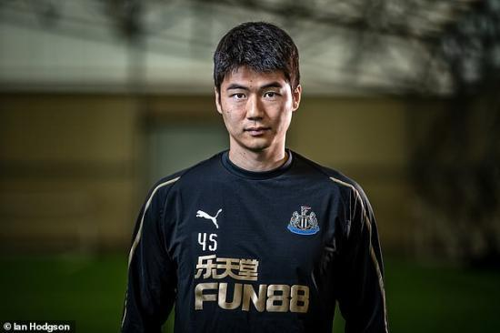 Newcastle United midfielder Ki Sung-yeung revealed to Sportsmail that he is ready for war