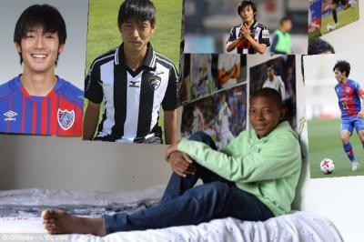 Mbappé has pictures of Shoya Nakajima above his bed