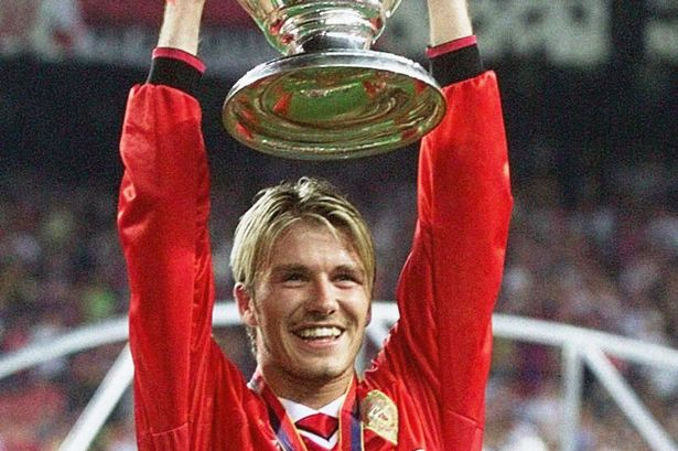 David Beckham, how good he was
