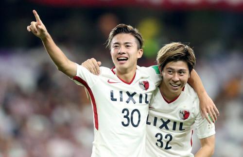 Kashima [3]-1 Guadalajara - Hiroki Abe goal