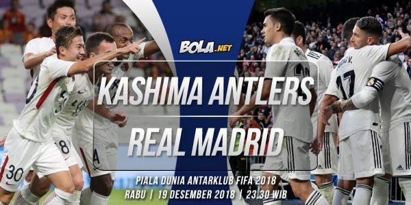 Kashima Antlers JPN vs Real Madrid ESP 2018