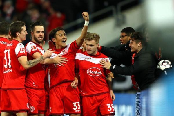 Fortuna Düsseldorf 2-1 Borussia Dortmund Usami assists