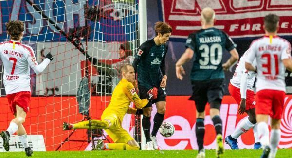 RB Leipzig 3_2 Werder Bremen - Josh Sargent Osako Yuya assists
