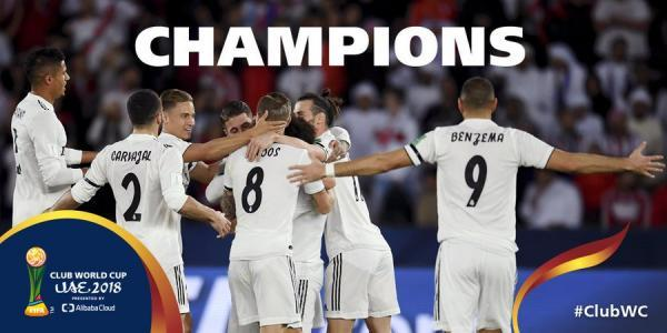 Real Madrid win their 7th Club World Cup