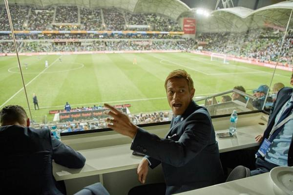 Keisuke Honda was a late precautionary withdrawal #MVFC