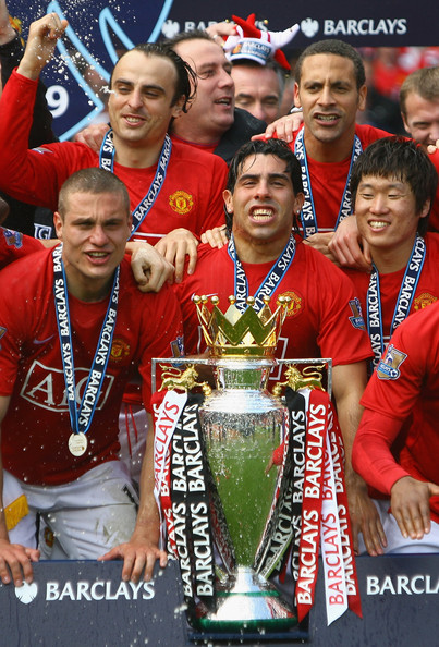 Park Ji Sung won premier league with man united