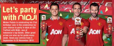Manchester United with Mr Potato