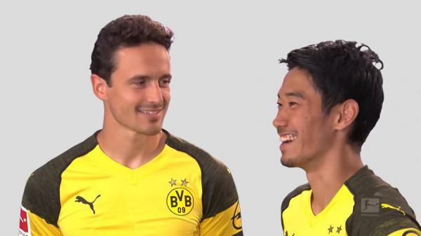 Japanese Lesson with Shinji Kagawa Repeat After Me Bundesliga 2018