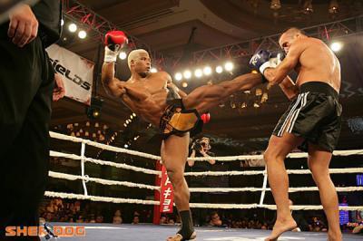 McDonald kickboxer