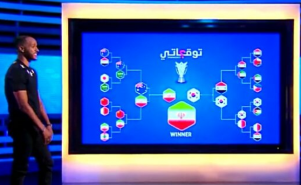 Youssef El-Arabi thinks Iran will win the Asian Cup